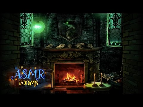 Harry Potter ASMR - Slytherin Common Room - POV HD ambient sound white noise - Cinemagraphs