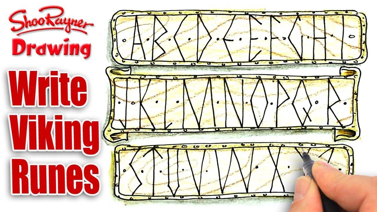 Viking writing alphabet