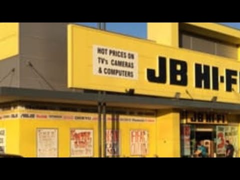 Our Trip To JB HiFi.