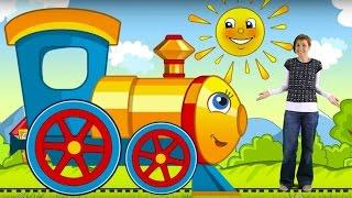Развивающий мультик для детей - Паровозик Умняша - Большой и Маленький