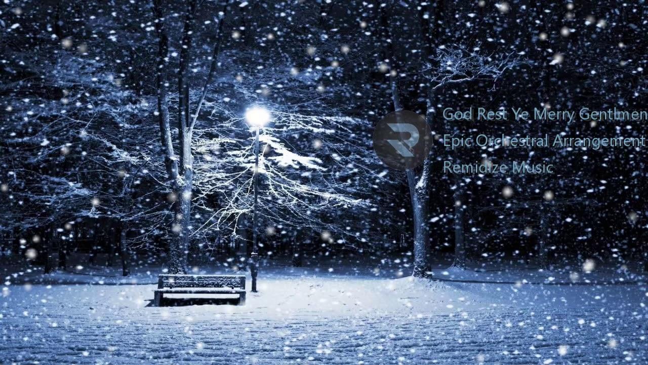 God Rest Ye Merry Gentlemen - Epic Orchestral Arrangement - YouTube