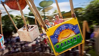 Flik's Flyers On Ride HD 60FPS POV Disney California Adventure