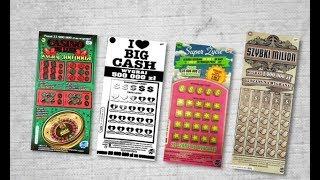 Zdrapki #132 Super życie, szybki milion, casino de luxe, I❤️big cash