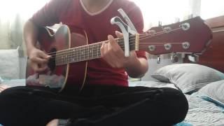 Hazy moon - Hatsune Miku guitar cover by Saka