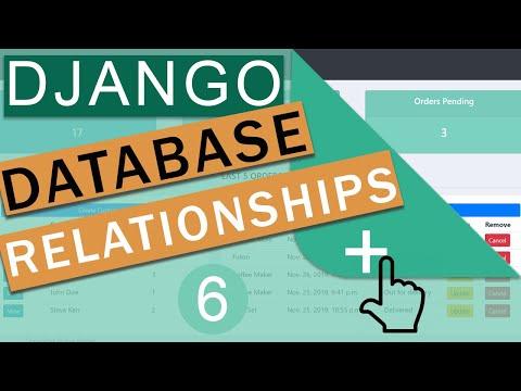 Database Relationships   One To Many & Many To Many    Django (3.0)  Crash Course Tutorials (pt 6)