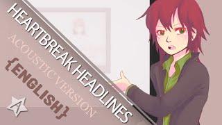 『ハートブレイク・ヘッドライン-acoustic english ver-』を歌ってみた【暗黒】 thumbnail