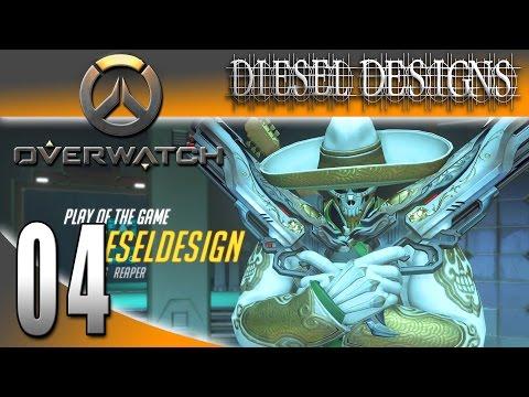 Overwatch Gameplay : EP4: Legendary Reaper Skin El Blanco Mariachi! (HD LetsPlay FPS)