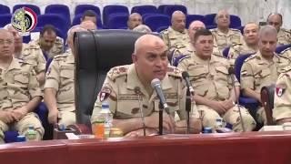 بالفيديو.. وزير الدفاع فى حوار مفتوح مع ضباط الجيش: ندعم القيادة السياسية