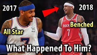 Where Is Carmelo Anthony Now? From All Star To OUT OF THE NBA In Less Than 2 Years?