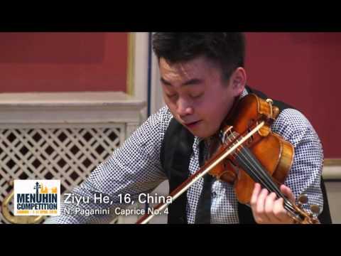 Ziyu He 16 China