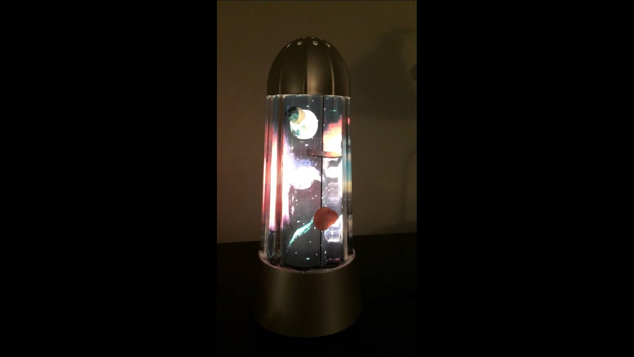 Rotating Outer Space Lamp