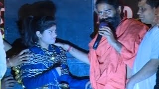 Magician Aanchal with Swami Ramdev.Haridwar | 24 Nov 2014