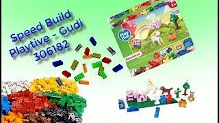 Fake Lego - Playtive Bausteine-Set 306182 - Speed Build
