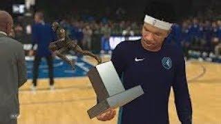 『Chris Smoove 中字』NBA 2k18 我的生涯 75勝MVP!PS4 Pro 4k 遊戲