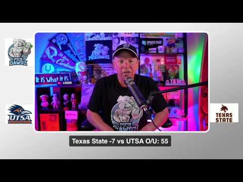 Texas State vs UTSA 9/12/20 Free College Football Pick and Prediction CFB Tips
