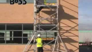 Scaffold Tower Hire. How to build a scaffold tower. http://lakeside-hire.co.uk