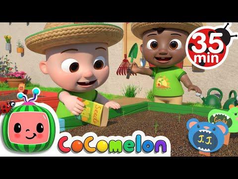 Gardening Song  + More Nursery Rhymes & Kids Songs - CoComelon