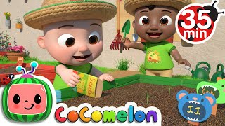 Gardening Song  + More Nursery Rhymes & Kids Songs - CoComelon