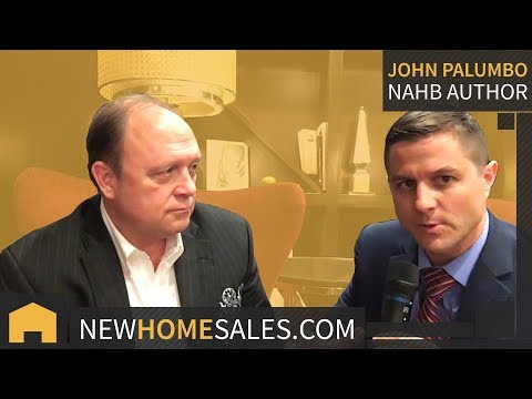 John Palumbo  New Home Sales Author Trainer Coach Legend  Builders