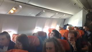 Пьяная хохлуха в самолете. Пхукет-Москва.
