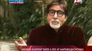 Anurag Kashyap Accused Amitabh Bachchan