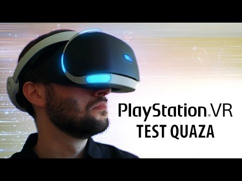 PlayStation VR - test quaza