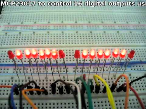 Tutorial: Maximising your Arduino's I/O ports with MCP23017