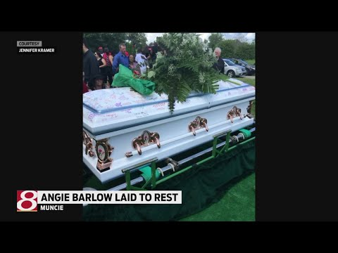 Angie Barlow laid to rest