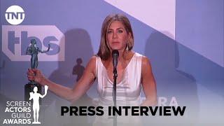 Jennifer Aniston: Press Interview   26th Annual SAG Awards   TNT