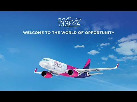 Wizz Air * Landing At Luton Airport *
