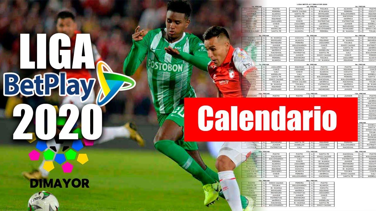 Asi Sera La Liga Betplay 2020 Fixture Oficial Liga Aguila 2020 Youtube