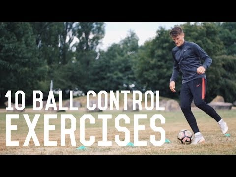 10 Easy Ball Control Exercises | Improve Your Ball Control With These Exercises