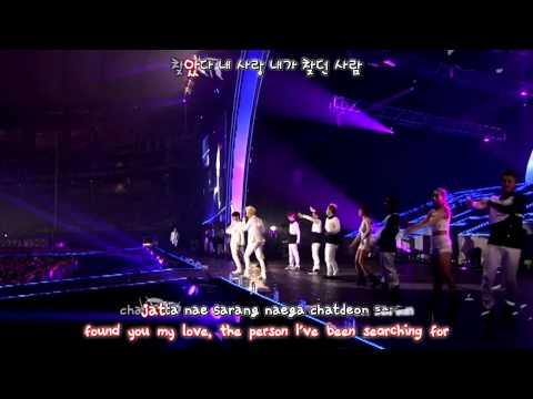 JYJ - Found You / Chajatta / 찾았다 (2013 Concert in Tokyo Dome) [eng + rom + hangul + karaoke sub]