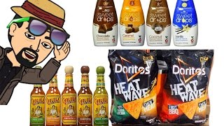 Sweetleaf Stevia, Cholula & Doritos Heat Wave - FOOD REVIEW