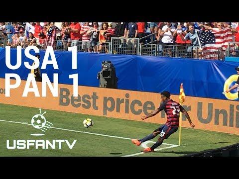 USfanTV Live: USA 1 Panama 1