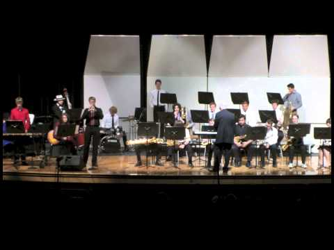 Bloomington High School South Advanced Jazz Band, April 30, 2015