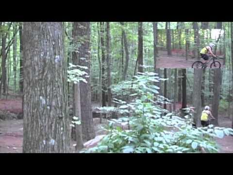 Downhill Mountain Biking / Freeriding at Big Creek, Roswell, Georgia