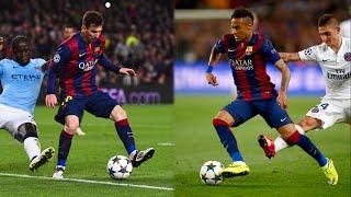 Lionel Messi & Neymar Jr | Panna/Nutmeg Masters | 2015 | HD