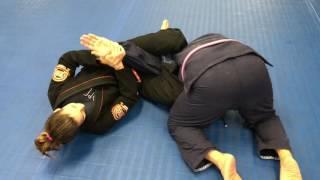 Omoplata To Armbar WithJiu Jitsu Black BeltChampion Andrea Encarnacion