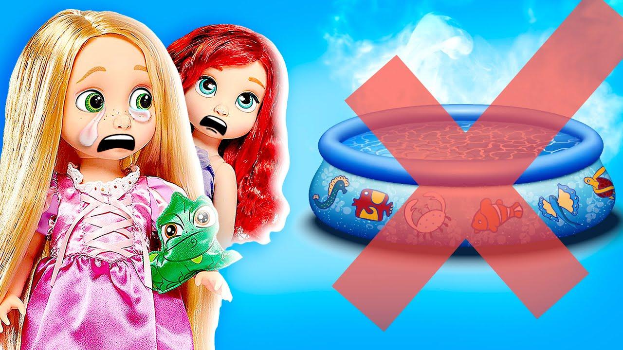 ¡Las Junior Se Quedan sin VACACIONES!   Princesas de Disney