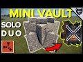 "RUST - The ""Mini-Vault"" Rust Bunker Base Design 3.2 (2018)"