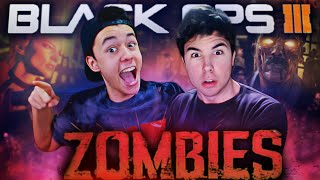 """UNA GRAN PARTIDA"" - SHADOWS OF EVIL Zombies w/ Grefg & Willyrex - (Black Ops 3 Gameplay de Zombies)"