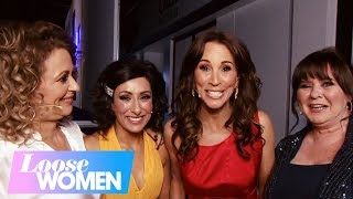 Gambar cover Backstage with Andrea, Coleen, Nadia and Saira at Loose Women Late   Loose Women