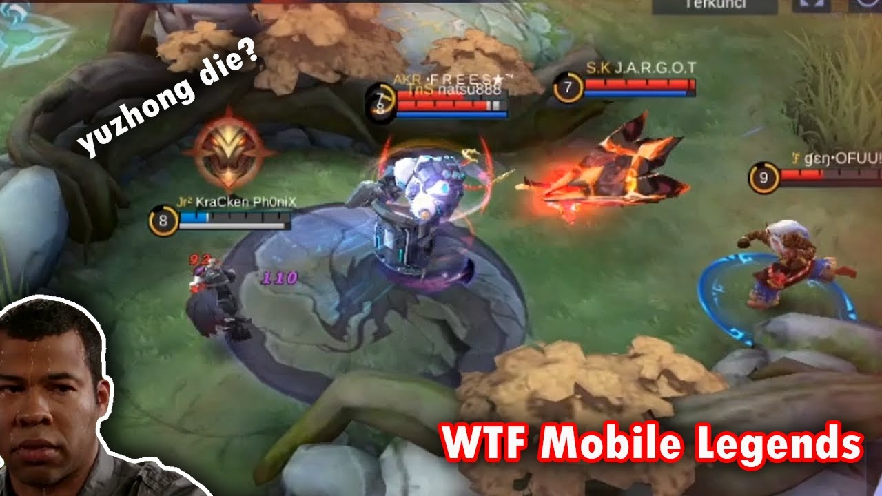 Mobile legends WTF | Funny moments Yuzhong 300IQ TANK!