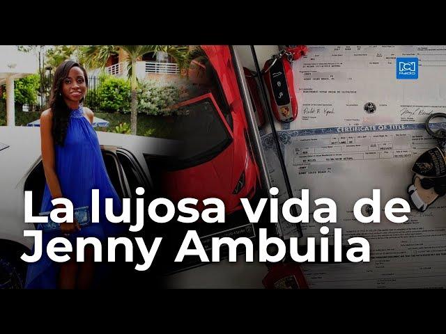 Imagenes Jenny Ambuila En Lamborghini Expuso A Su Padre Omar