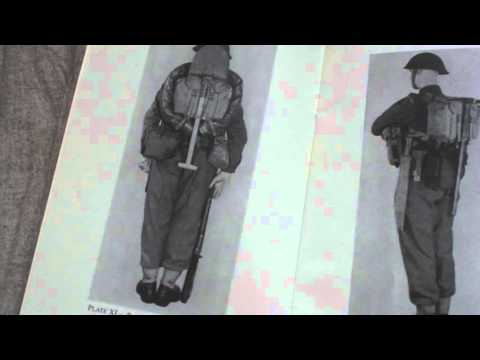 BRITISH ARMY MANUAL HANDBOOK,THE PATTERN 1944 WEB EQUIPMENT,HMSO 1946