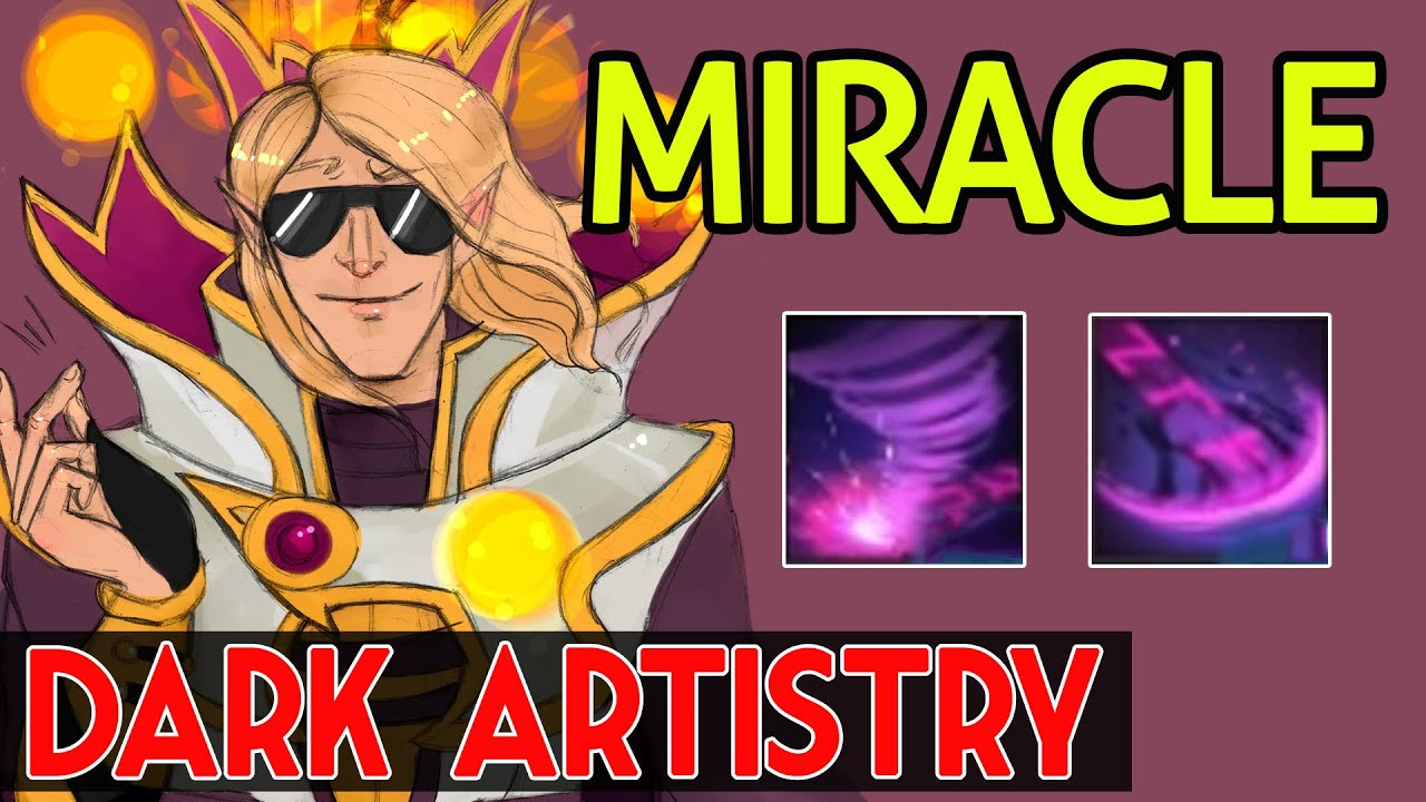 Miracle Dota 2 Invoker Vol 36 Middle Dark Artistry Youtube