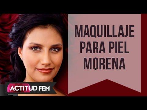 Maquillaje para piel morena | ActitudFEM