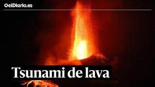 🌋 Un mes del volcán de La Palma: un 'tsunami' de lava que ha destruido 2.000 edificaciones