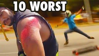 TOP 10 WORST Skate Accidents! *BLOOD ALERT*